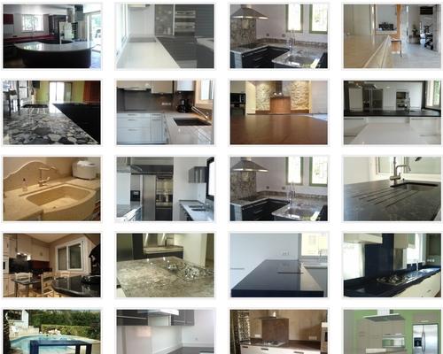 un plan de travail en granit une tendance en hausse pour la cuisine. Black Bedroom Furniture Sets. Home Design Ideas