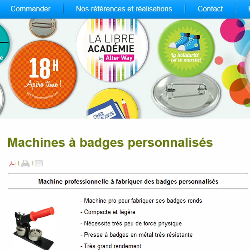 Utiliser des badges de scrapbooking dans sa d co for Badge fait maison
