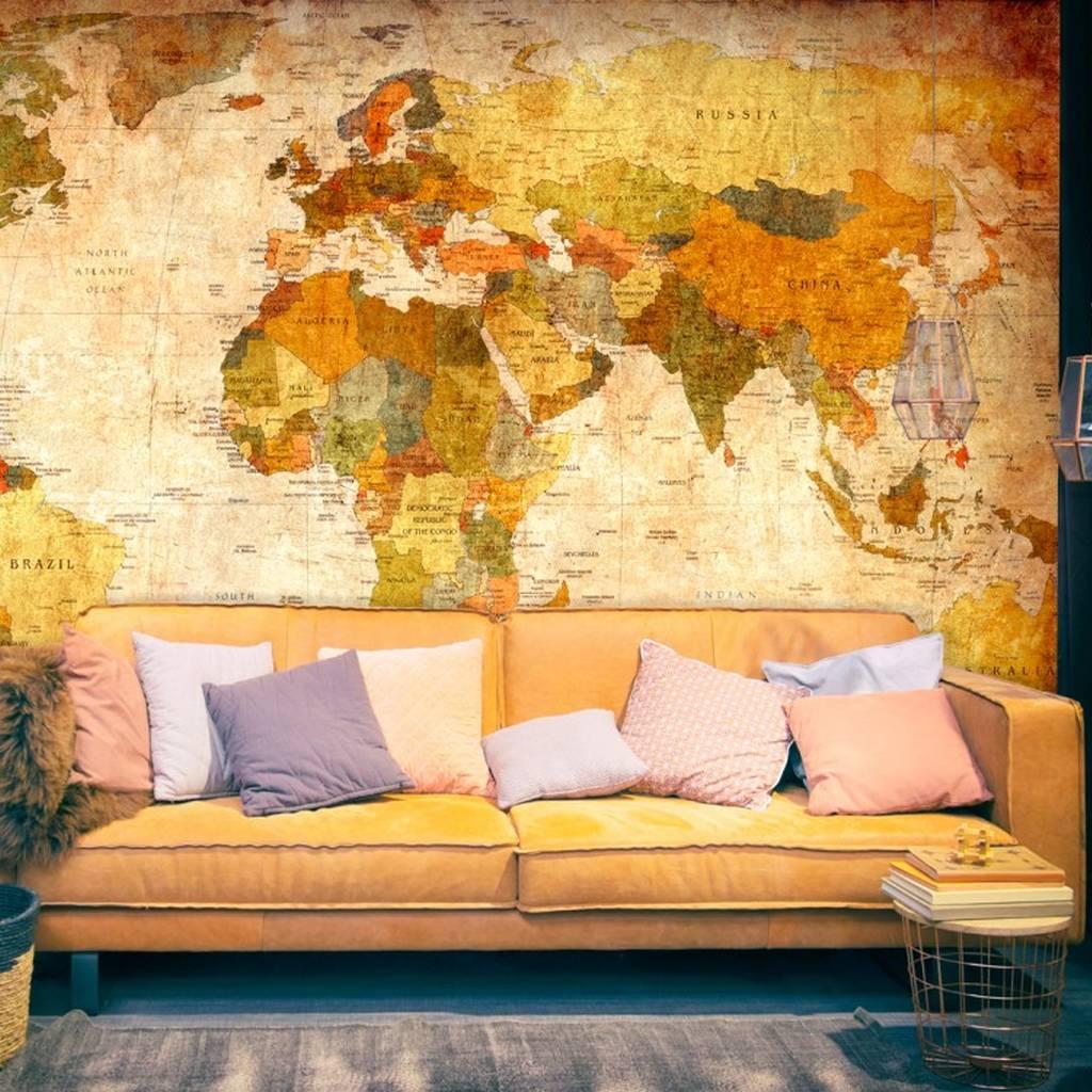 retour vers les ann es 50 70 avec le papier peint vintage. Black Bedroom Furniture Sets. Home Design Ideas