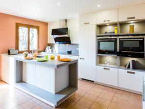 Personnaliser une cuisine en deux couleurs